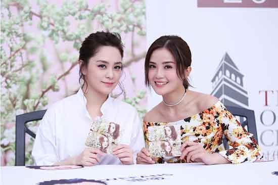 "Twins合体现身成都签售会 共赴""花约""之旅"
