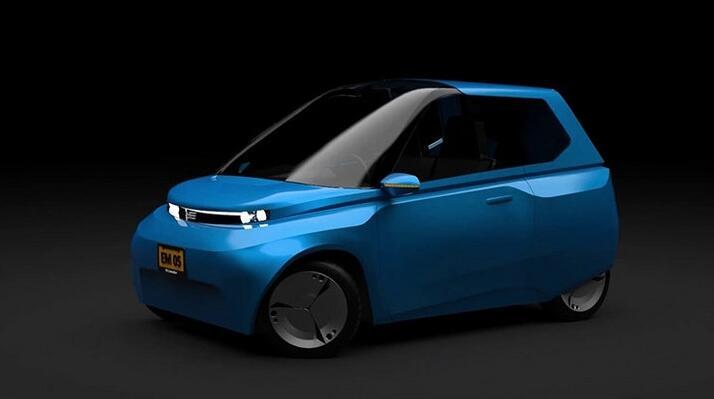 可完全自然分解的汽车 Noah EV电动概念车