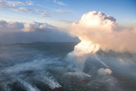 夏威夷地震引起火山喷发 1700岛民被迫撤离