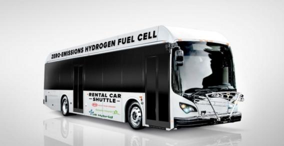 比亚迪与美国公司首次开发氢燃料电动巴士