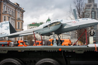 俄罗斯无人攻击机首次亮相 具备察打一体能力