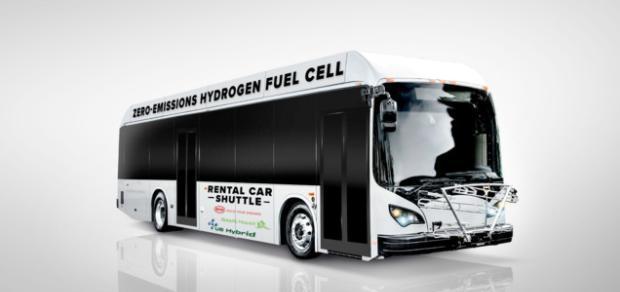 比亚迪与美国混合动力合作研发氢燃料电池