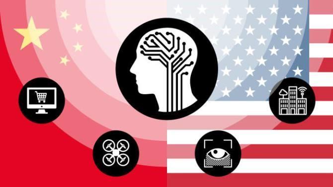 中国AI超美?牛津报告:中国AI实力只有美一半