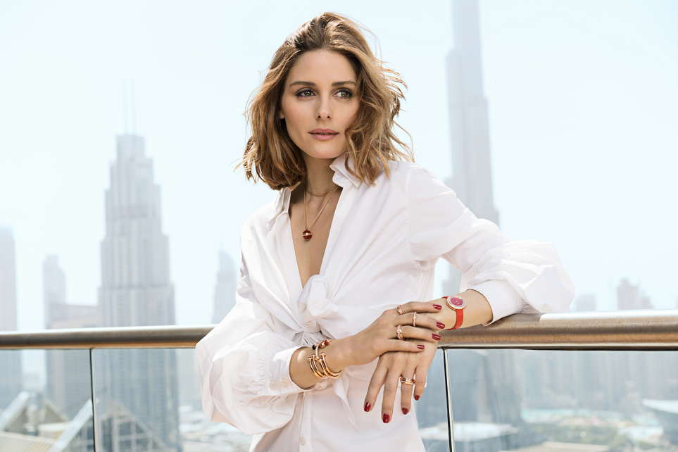 PIAGET伯爵连续三年携手时尚偶像Olivia Palermo