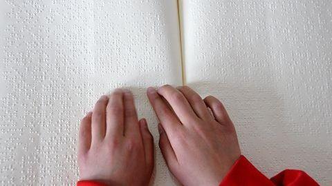 江苏为高考视障考生提供盲文卷和大字卷