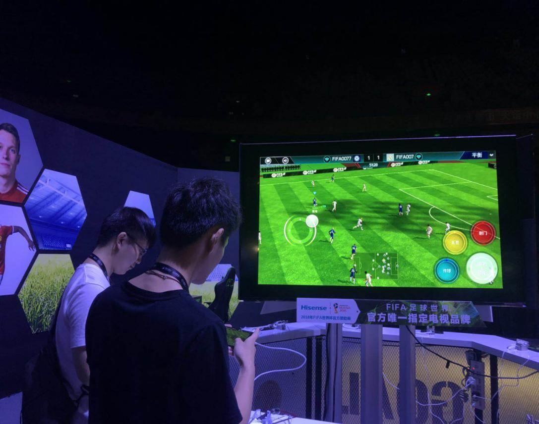 电视平台独家合作 海信助力FIFA开辟大屏游戏战场