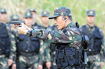 一组图片真实记录中国军队崭新风貌