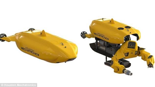 美军方资助研发可变形潜艇 可变身人形机器人