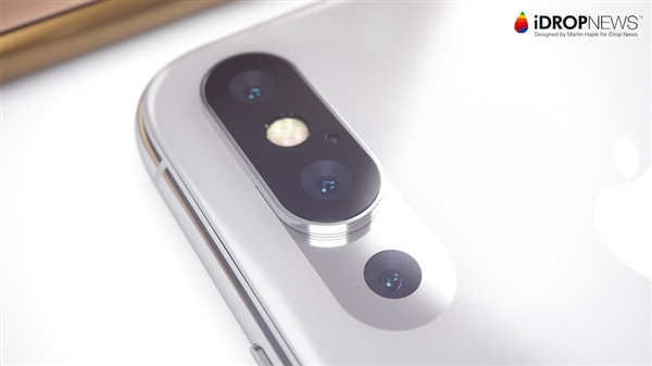 继华为:苹果将于2019年推出三个摄像头的iPhone