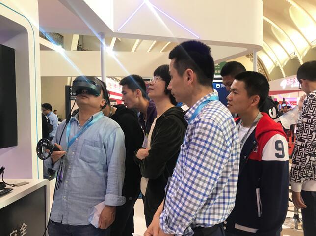 百度VR实训课堂频亮相 VR技术为安全赋能