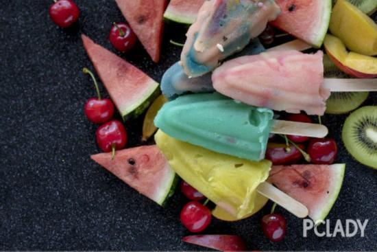 用高颜值自制冰棍开启夏天模式,今年就想大口吃冰!