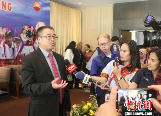 """印尼中国商会总会会长:中企促印尼经济发展和两国""""民心相通"""""""