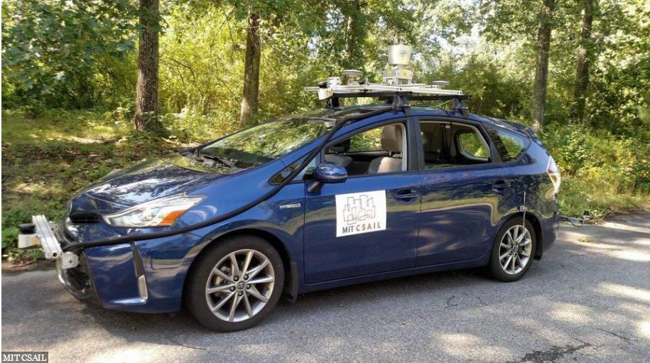 MIT开发新技术:无人驾驶汽车没有地图也能导航