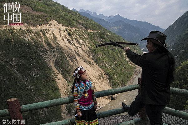 英媒:中国傈僳族正努力保护弓弩文化的传承