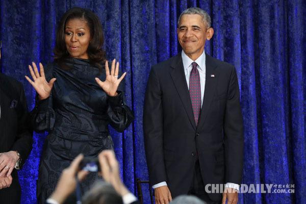 美国前第一夫人米歇尔·奥巴马:我无意竞选总统