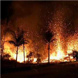 因房租廉价 夏威夷火山爆发区居民不愿撤离