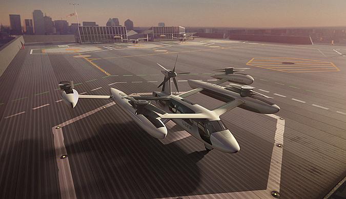 美宇航局与优步合作探索城市空中交通系统