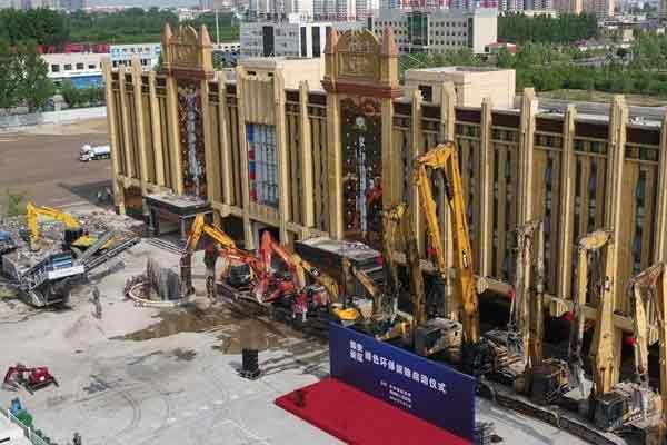 """雄安""""绿色拆除""""10小时夷平8000平米建筑"""