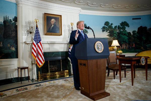 奥巴马痛批特朗普退出伊核协议 :铸成大错