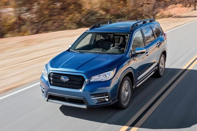 斯巴鲁全新Ascent七座SUV正式下线 今夏在美上市