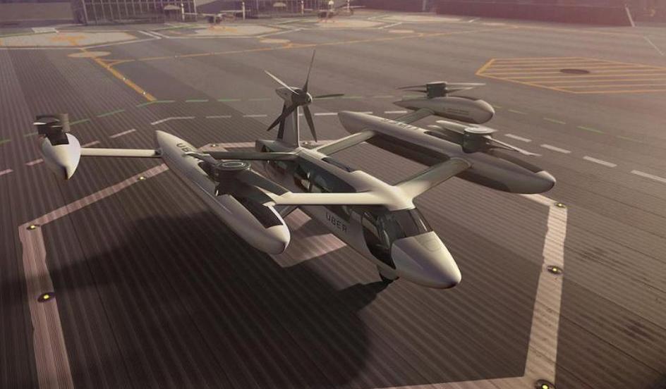 优步与美国军方合作 研发新型静音飞行汽车技术