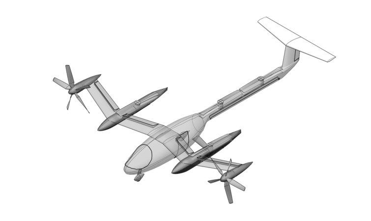 Uber发布飞行车概念原型车 与NASA达成合作协议