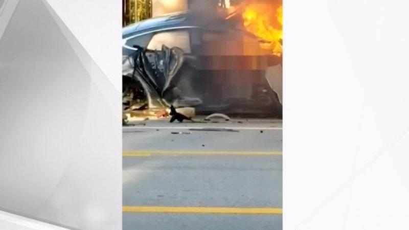 特斯拉Model S碰撞起火致两人死亡 美国展开调查
