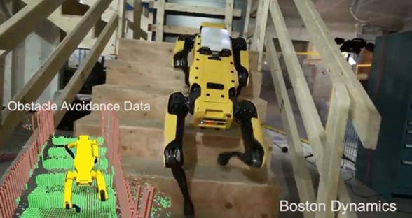 无需人类 波士顿动力机器人精通跑步跳跃能遛弯