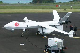 """日本测试新式无人机 原型为美军MQ-9""""死神"""""""