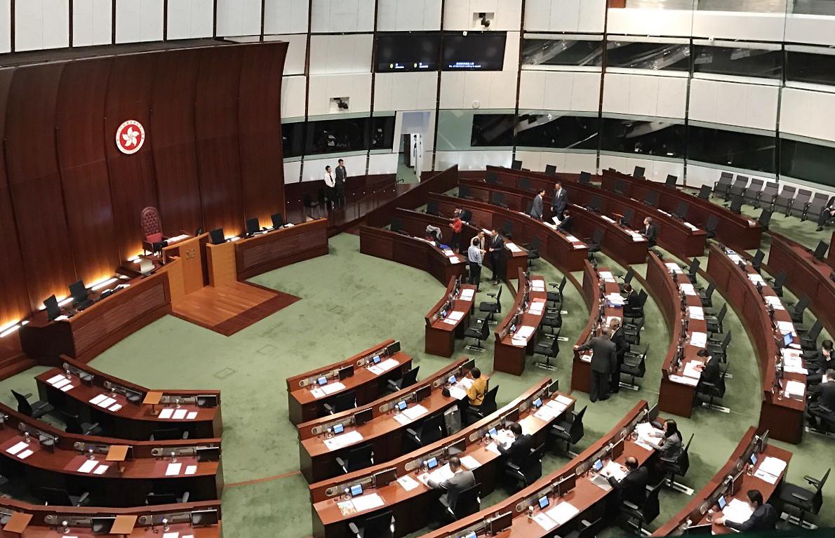 朱家健:立法会不是游乐场 香港要进步须更重视议会文明