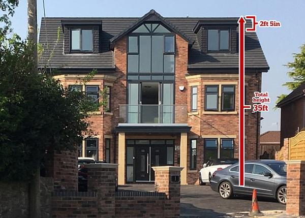 英男子新建房屋仅因高出标准75厘米被要求整改