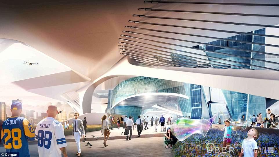 优步飞行出租车停机坪概念图出炉 可建在任何地方