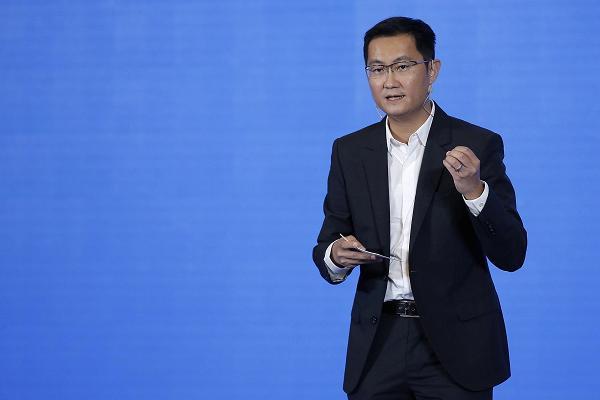 马化腾晋升中国新首富 个人财富达450亿美元