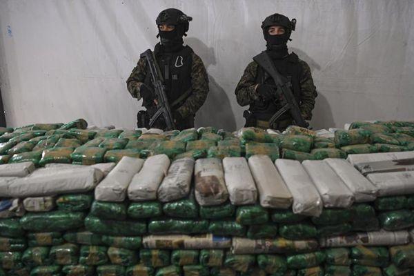 阿根廷销毁15吨毒品 安全部长亲自将毒品投入焚烧炉