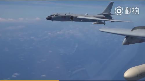 重磅!我方多型战机双向绕飞台岛巡航视频公布