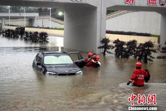 广西强降雨致3死1失踪 多地发布气象灾害预警