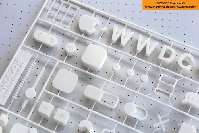 去不成WWDC?拼个3D邀请函玩玩吧