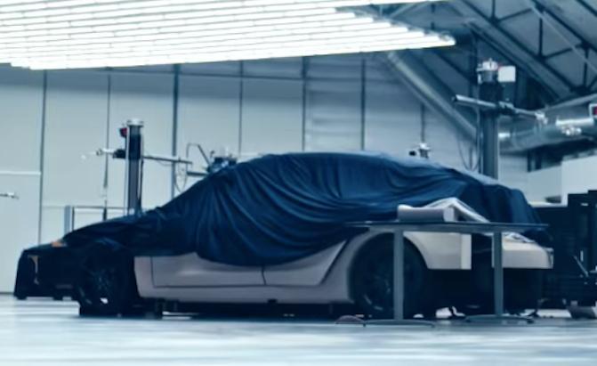 特斯拉发官方宣传视频:新车Model Y一闪而过?