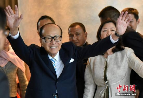 李嘉诚正式退任长和系主席:希望香港个个都好