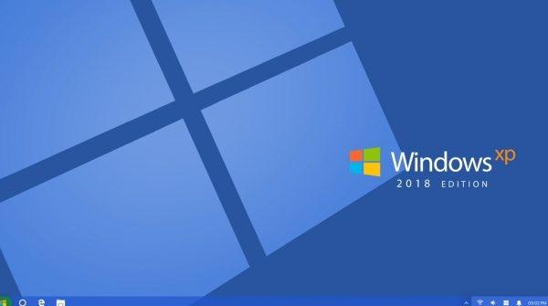 网友自制WinXP重制版概念图 借鉴Win10元素