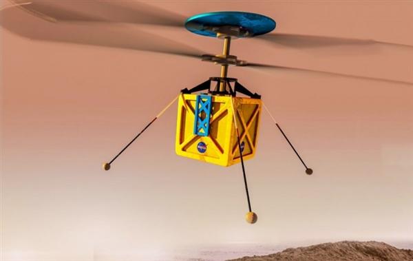 NASA:2020年要在火星上飞无人直升机