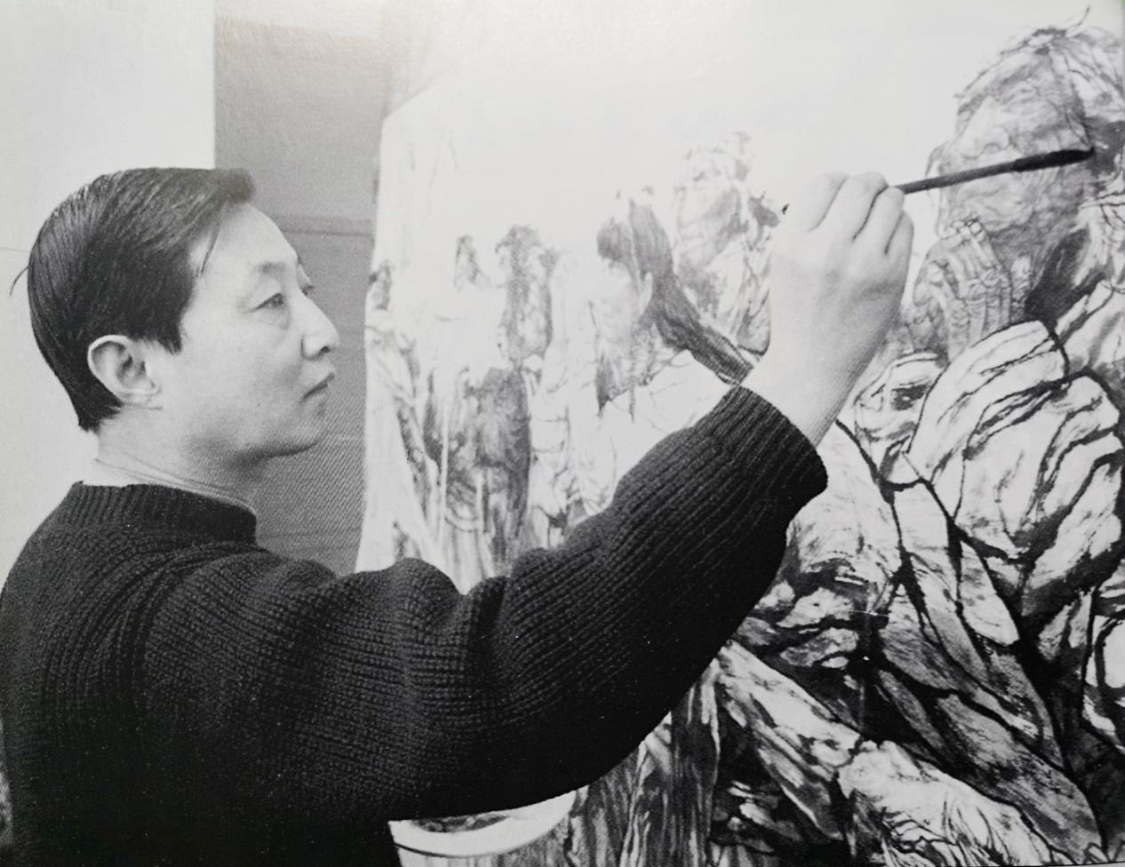 20世纪杰出的现实主义画家李伯安画展