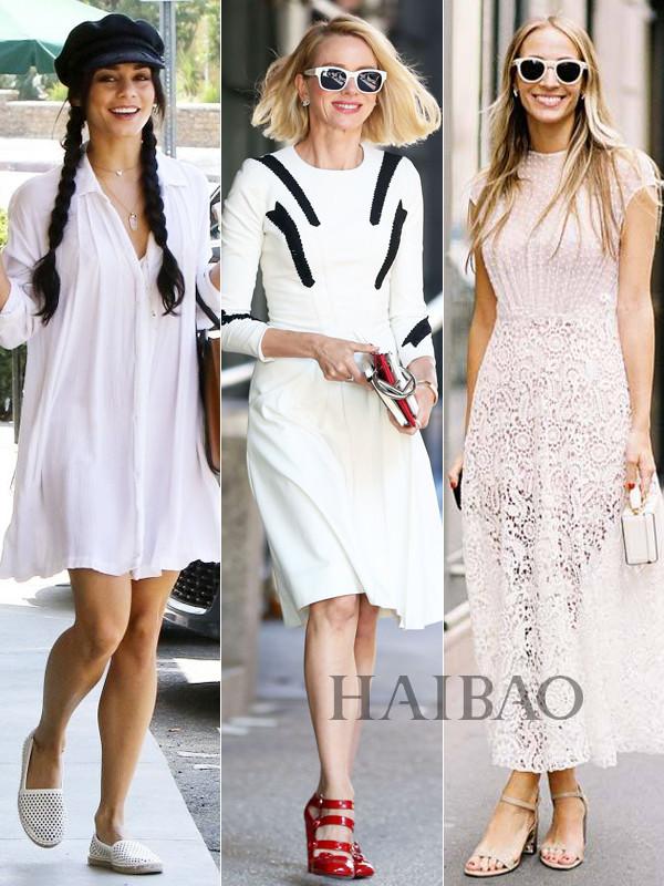 初夏季我只想要一打小白裙!