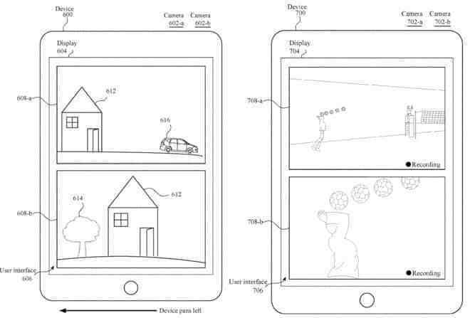 苹果新专利:iPhone双摄像头实现分离取景的技术