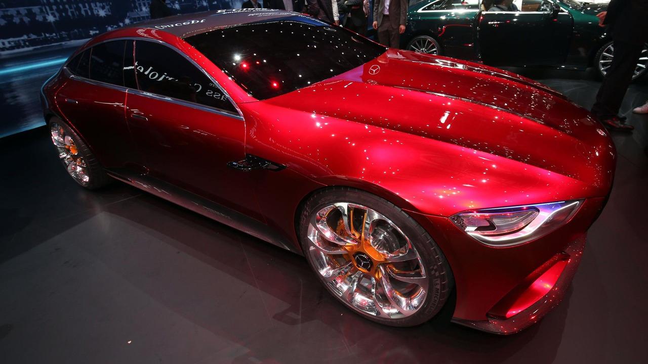 奔驰AMG证实将量产805马力V8混动发动机