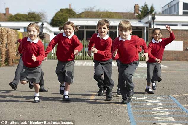 研究:每天跑步一英里 有助于孩子保持身心健康