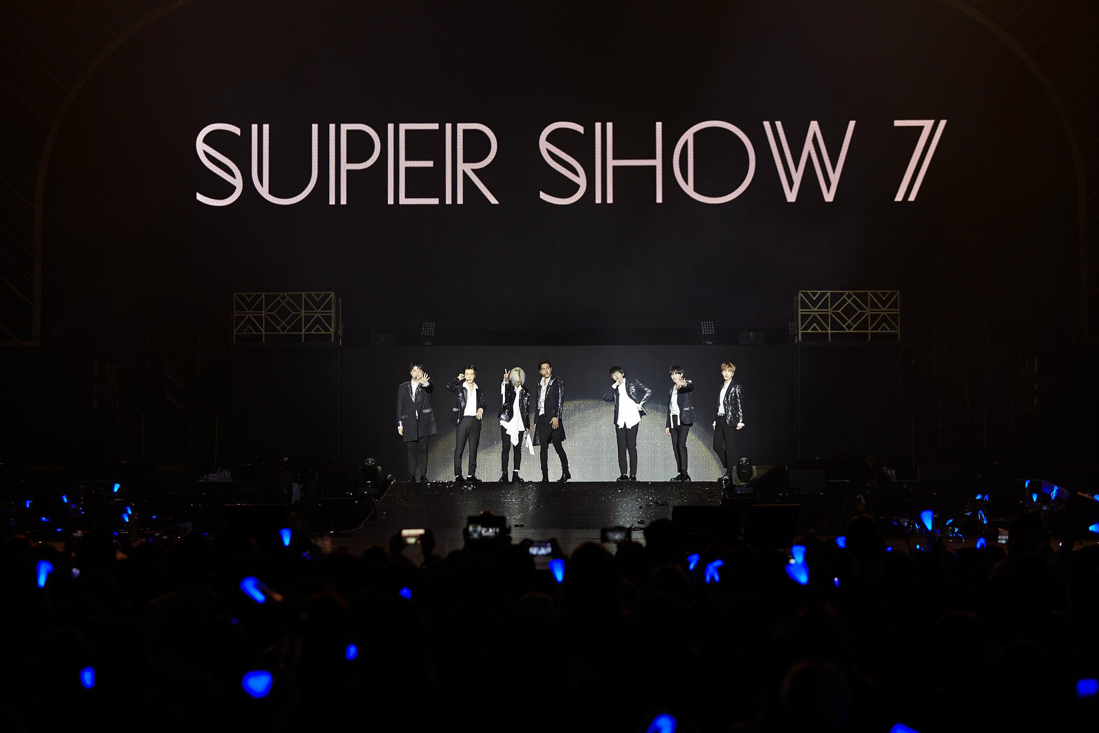 "Super Junior公演品牌""SUPER SHOW7""装点澳门之夜"