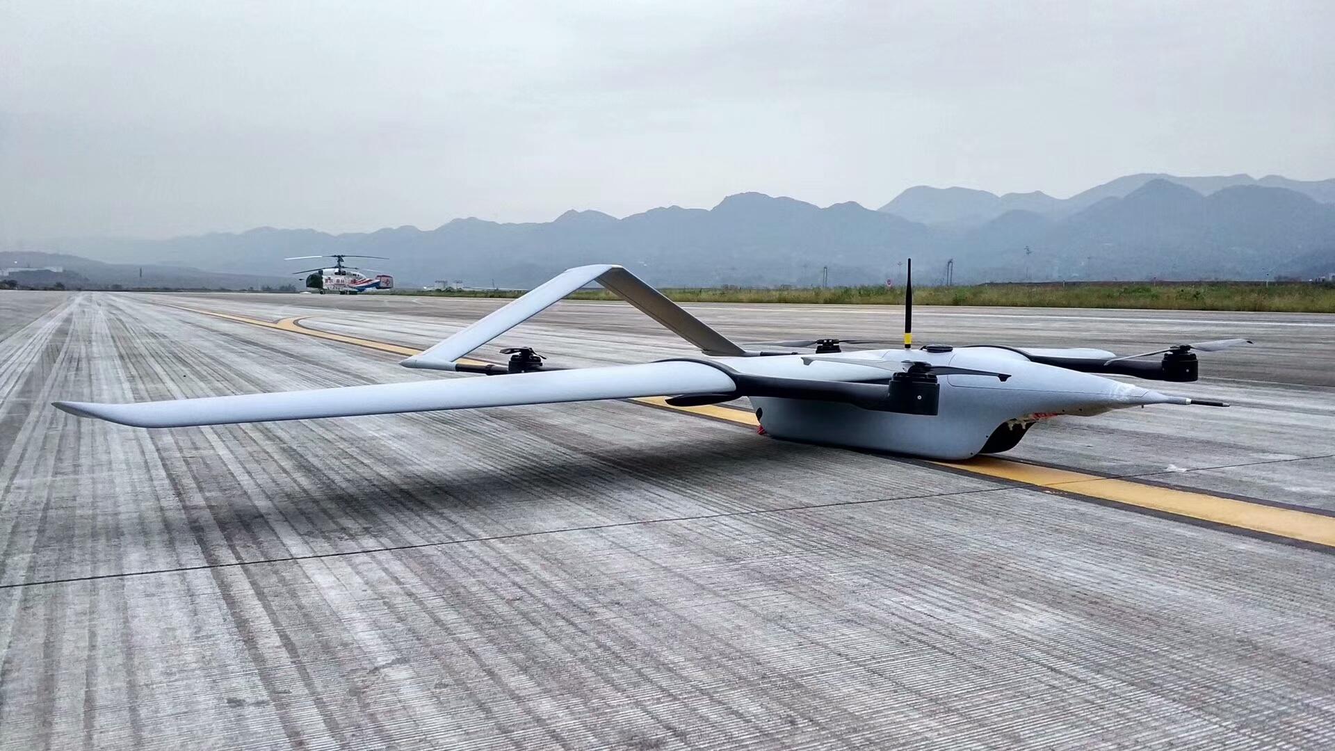 零度与鑫元盾合作推出复合翼安防无人机载重5kg续航140分钟