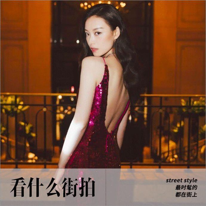 高调亮片裙,是对时髦的一种尊重