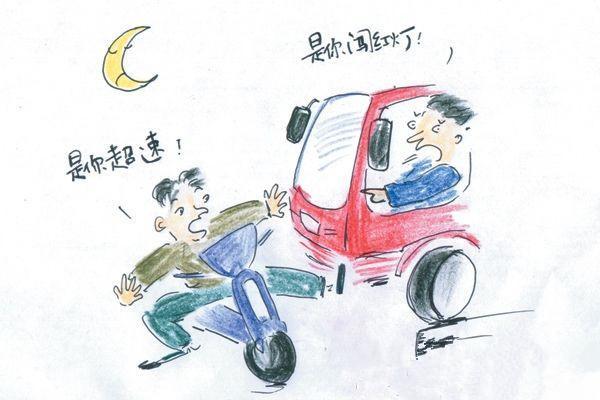 电动车违章也会被罚 AI交警终结交通乱象